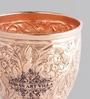 Indian Art Villa Handmade Copper 350 ML Glass