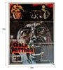 Indian Hippy Paper 30 x 40 Inch Kaala Patthar Vintage Hand Painted Unframed Bollywood Poster