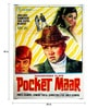 Paper 30 x 40 Inch Pocket Maar Vintage Indian Unframed Bollywood Poster by Indian Hippy