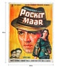 Paper 30 x 40 Inch Pocket Maar Vintage Unframed Bollywood Poster by Indian Hippy