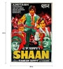 Paper 40 x 60 Inch Shaan Vintage Unframed Bollywood Poster by Indian Hippy