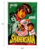 Indian Hippy Paper 40 x 60 Inch Shahenshah Vintage Unframed Bollywood Poster
