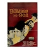 Paper 6 x 9 Inch Bombay to Goa Vintage Unframed Bollywood Poster by Indian Hippy