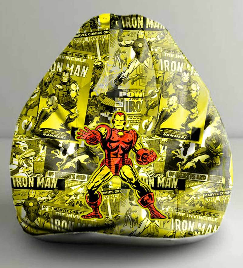 Iron Man Comics Digital Printed Bean Bag (Without Beans) XXL Cover by Orka