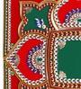 Itiha Multicolour Acrylic Traditional Floor Rangoli