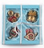 Itiha Multicolour Metal Festive Home Decor Set