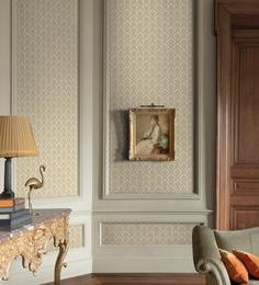 Ivory Non Woven Wallcoverings 1.77 X 32.8 Feet Wallpaper