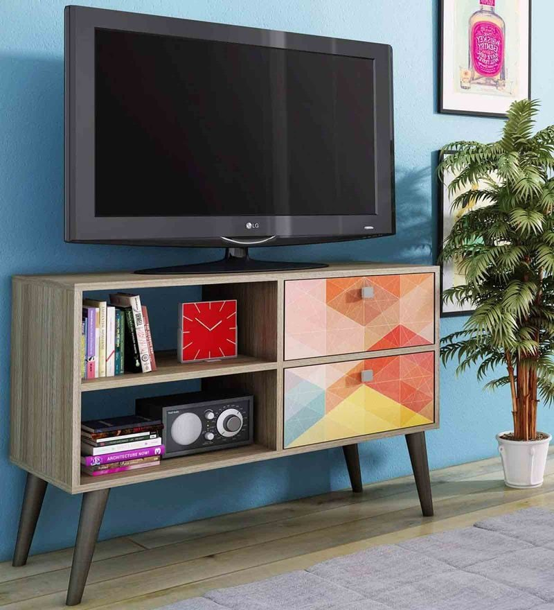 Iwa Entertainment Unit in Multi Finish by Mintwud
