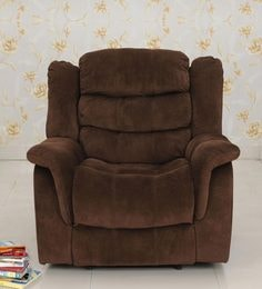 Jasmine One Seater Recliner in Brown Colour & Recliner Sofas - Buy Recliners Online in India - Exclusive Designs ... islam-shia.org