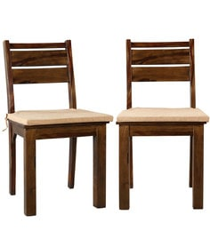 Java Dining Chair (Set Of 2) In Honey Colour By HomeTown