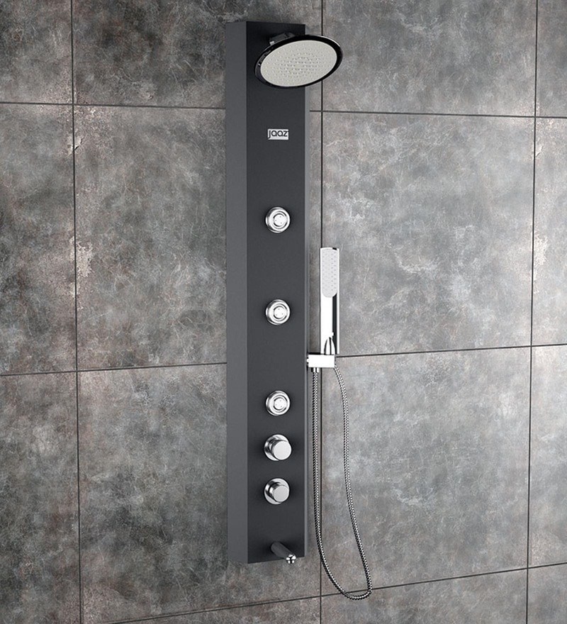 Jaaz OTIS Black Shower Panel (Model no: OTI1)
