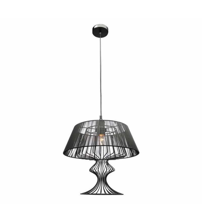 Black Iron Pendant by Jainsons Emporio