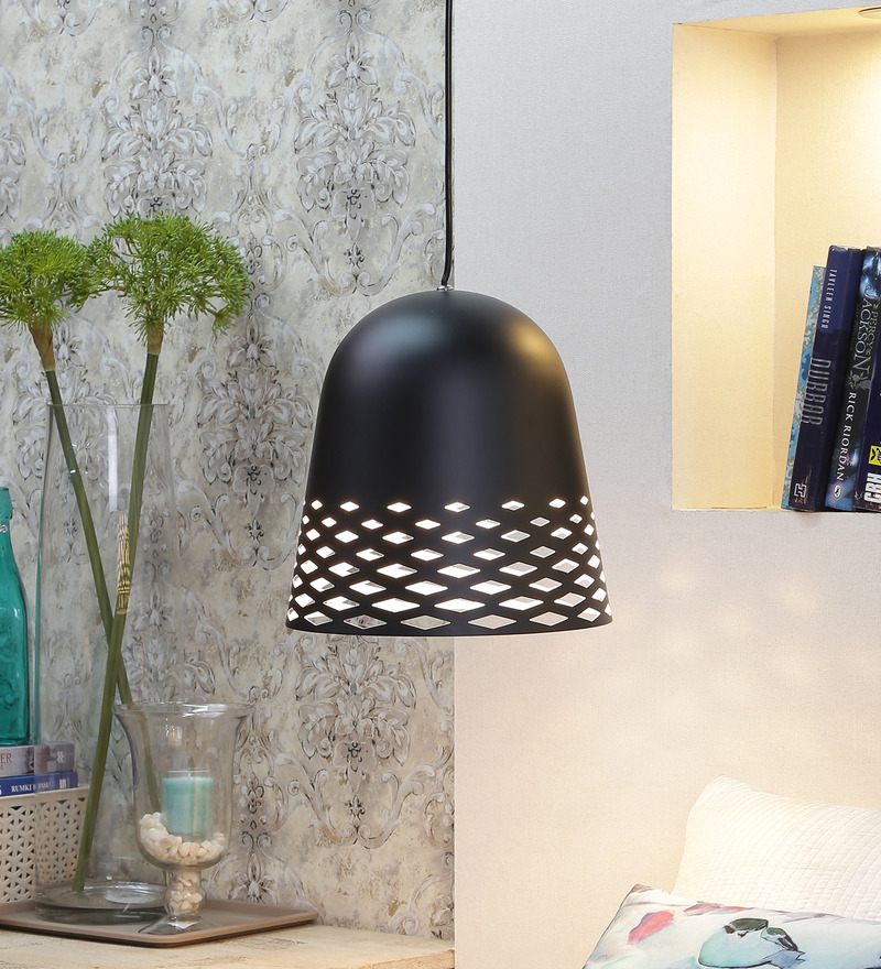 Black Kelly Pendant Light by Jainsons Emporio