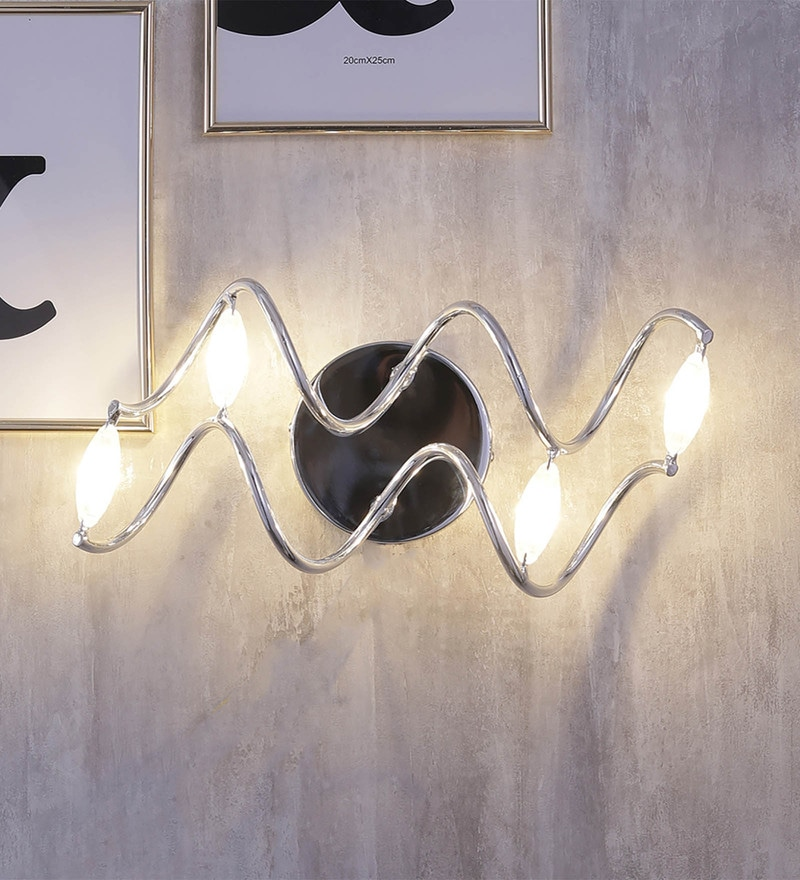 Black Aluminium Wall Mounted Light by Jainsons Emporio