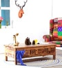 Raphael Coffee Table in Distress Finish by Bohemiana