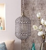 Jainsons Emporio Diamond Gold Finish Crystal Pendant Lamp