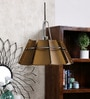 Jainsons Emporio Octagon Brown Metal Pendant Lamp