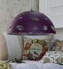 Jainsons Emporio Purple and White Aluminium Pendant
