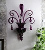 Purple Crystal Wall Mounted Light by Jainsons Emporio
