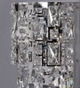 Silver Crystals Burley Wall Mounted Light by Jainsons Emporio