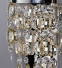 Silver Crystals Charley Wall Mounted Light by Jainsons Emporio
