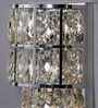 Silver Crystals Hailey Wall Mounted Light by Jainsons Emporio