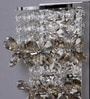 Jainsons Emporio Silver Crystals Shaley Wall Mounted Light