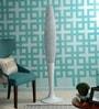 White Aluminium Floor Lamp by Jainsons Emporio