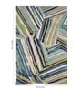 Jaipur Rugs Multicolour Wool 60 x 96 Inch Abstract Area Rugs