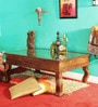 Advaram Coffee Table in Provincial Teak Finish by Mudramark