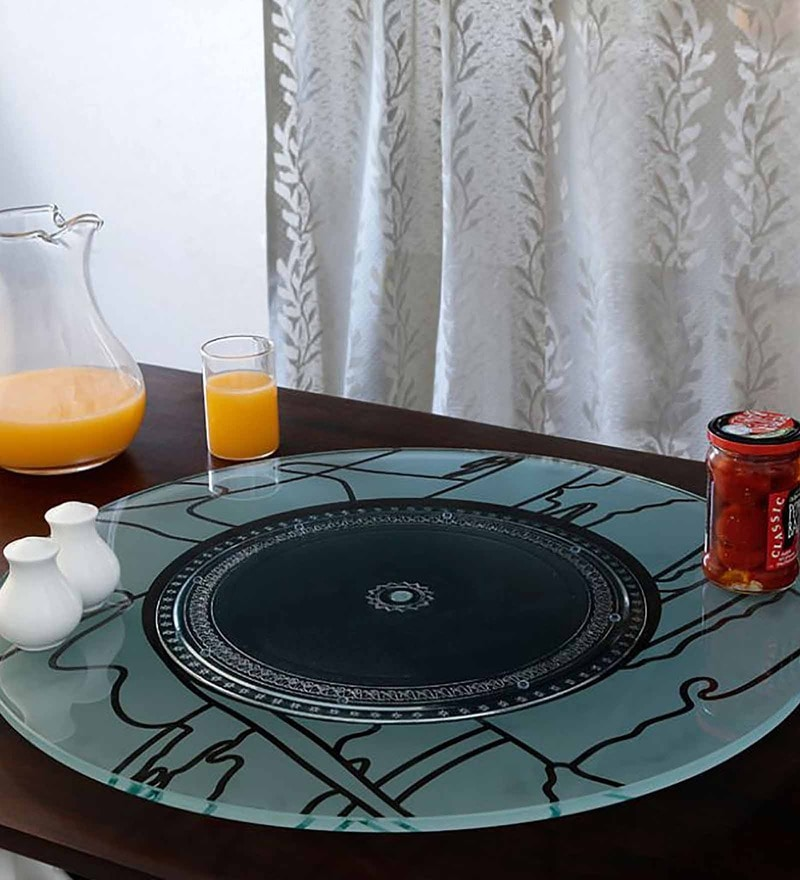 Jbu0027S Glass Opera 18 Inch Lazy Susan