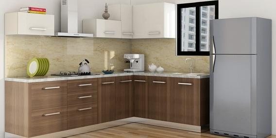 Modular kitchen buy modular kitchen design online in - L shaped modular kitchen designs catalogue ...