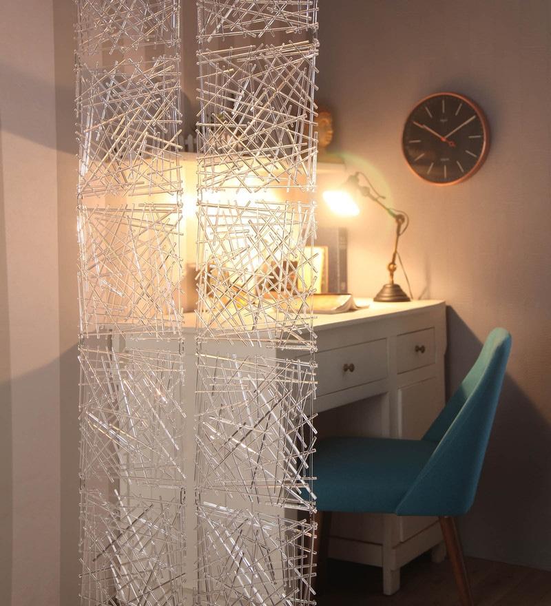 Transparent Plexi Glass Artistically Designed Screen Dividers - Set of 10 by JILDA