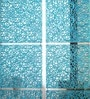Blue Plexi Glass Designer Screen Divider by JILDA