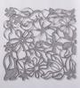 Jilda Grey Plexi Glass Stylish Designer Screen Dividers - Set of 10