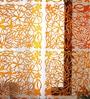 Orange Plexi Glass Designer Screen Divider by JILDA