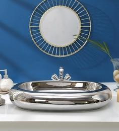JJ Sanitaryware Ceramic Golden Wash Basin (Model:JJb-40)