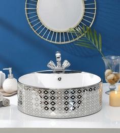 JJ Sanitaryware Ceramic Golden Wash Basin (Model:JJb-42)