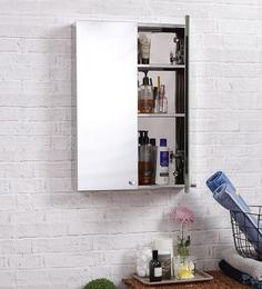 Laura Stainless Steel Bathroom Mirror Cabinet