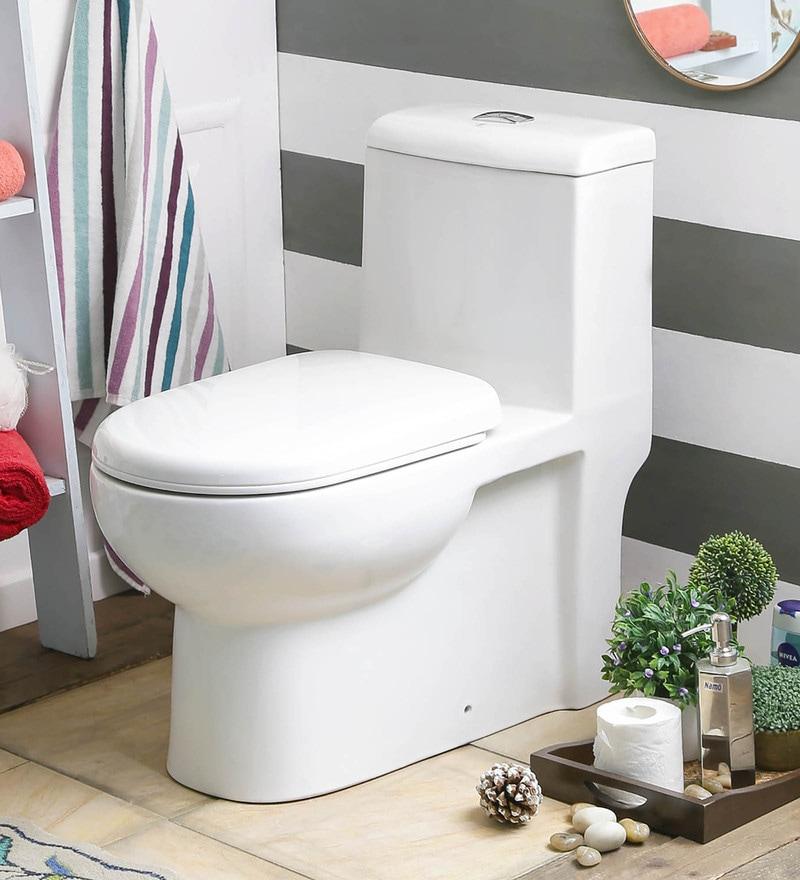 JJ Sanitaryware Alfonso 200 mm White Ceramic Water Closet