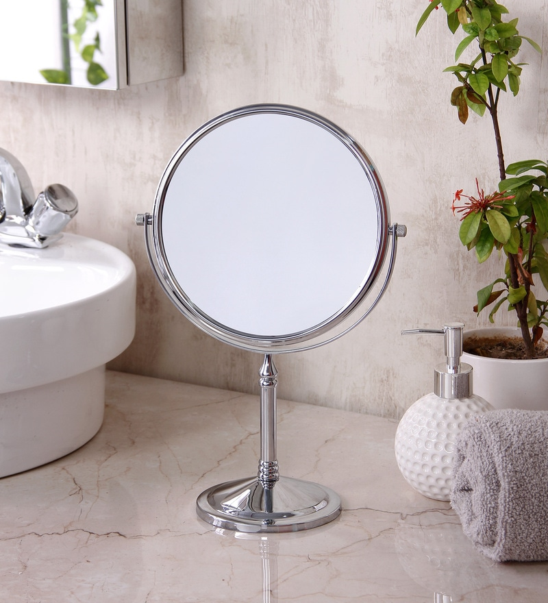 JJ Sanitaryware MF 01 Chrome Brass Shaving Mirror