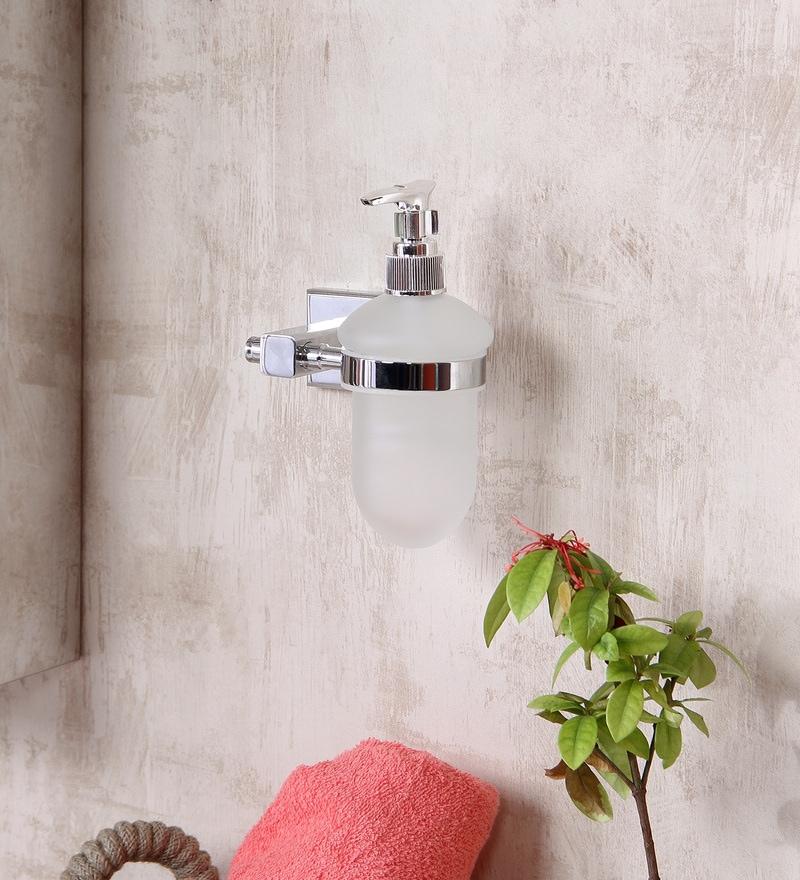 JJ Sanitaryware 1709 Metallic Brass Soap Dispenser
