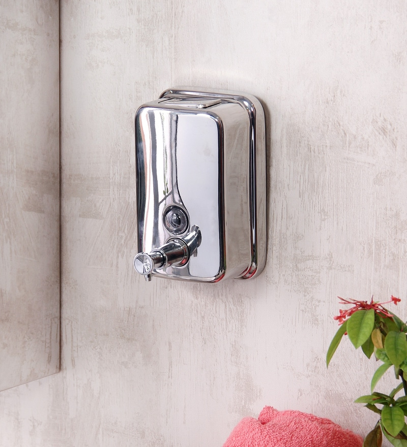 JJ Sanitaryware MZ-13 Stainless Steel Soap Dispenser (500ml)