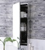 JJ Sanitaryware Lara Stainless Steel Bathroom Mirror Cabinet