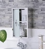 Lennox Stainless Steel Bathroom Mirror Cabinet by JJ Sanitaryware