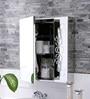 Logan Stainless Steel Bathroom Mirror Cabinet by JJ Sanitaryware