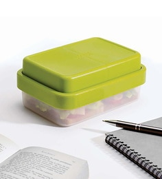 Joseph Joseph Go Eat Compact 2 In1 Lunch Box Green Plastic