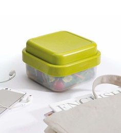Joseph Joseph Go Eat Compact 3In1 Salad Box Green Plastic
