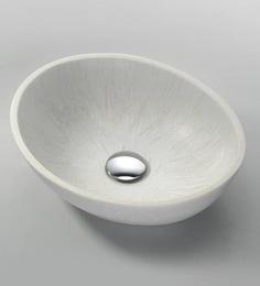 Joyo Cera Designer Silver Wash Basin