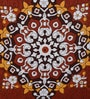 Multicolour 100% Cotton 16 x 16 Inch Cushion Covers - Set of 1 by Just Essential